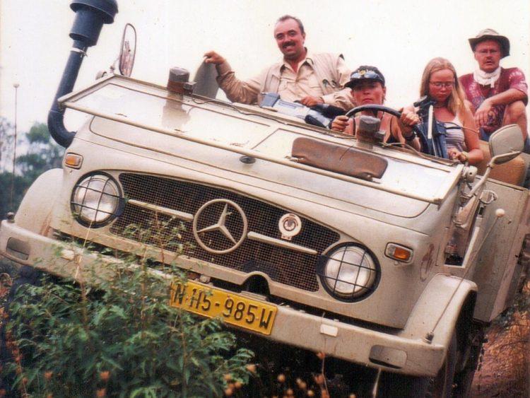 Mit dem Auto quer durch Afrika